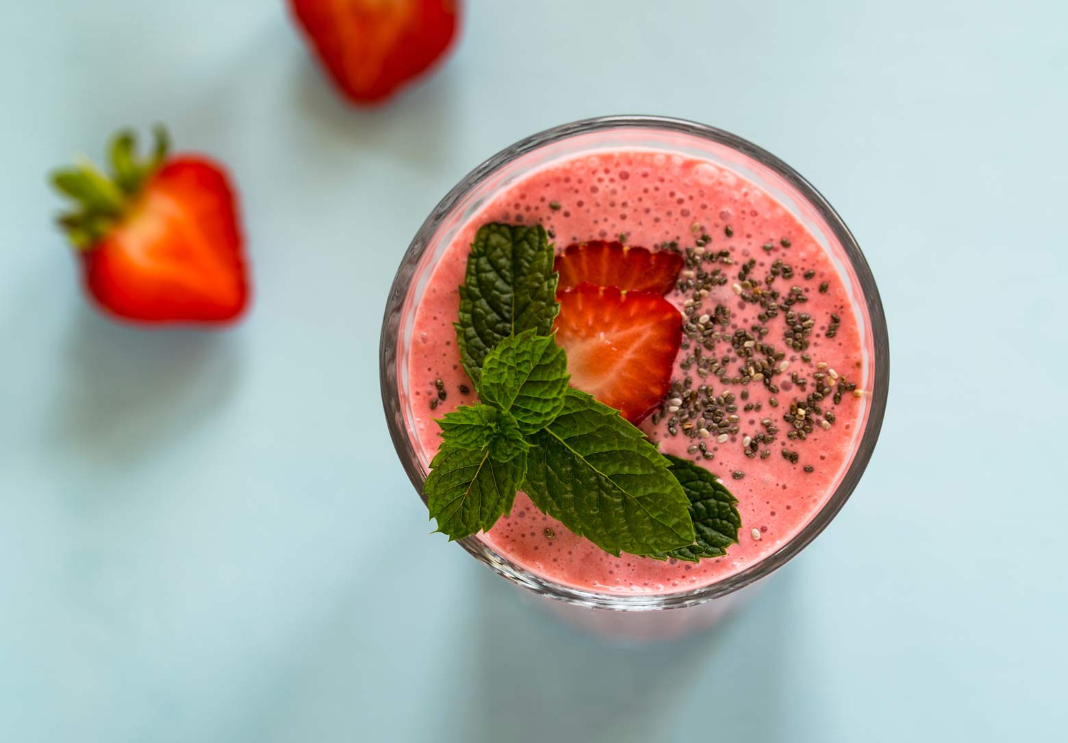 Recipes: Summer Smoothies & Salads