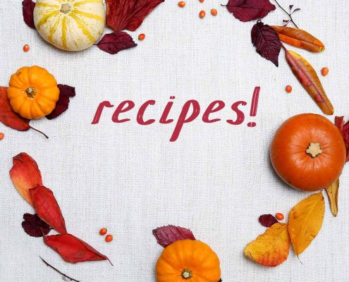 Recipes For Saying Goodbye to Summer, and Hello Fall!