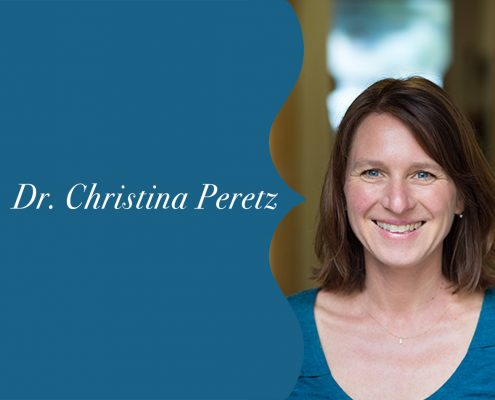 Blog A Message from Dr Christina Peretz